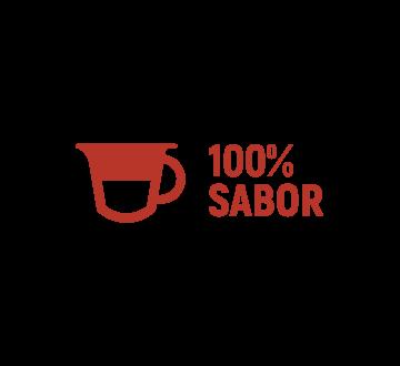 100% sabor